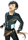 (Black of Diligence) Tetora Nagumo Full Render