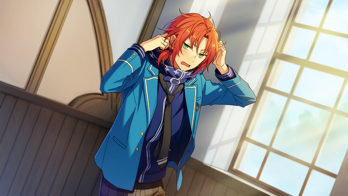 (Flower Viewing Stage) Leo Tsukinaga CG