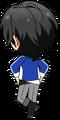 Rei Sakuma Academy Idol Uniform chibi back