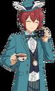 (Hurrying Clock Rabbit) Tsukasa Suou Full Render Bloomed