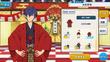 Jun Sazanami Kimono (Red Team) Outfit