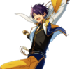 (Yellow Shooting Star) Shinobu Sengoku Full Render Bloomed