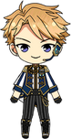 Arashi Narukami ES Knights Uniform chibi