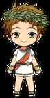 Mitsuru Tenma Greek Legends Chibi