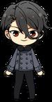 Rei Sakuma Casual (Winter + 2nd Year Appearance) chibi