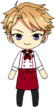 Arashi Narukami Cooking Leader Uniform chibi