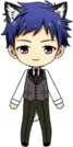 Yuzuru Fushimi Mansion Guard Dog chibi