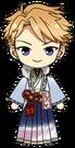 Arashi Narukami First Dream Outfit chibi