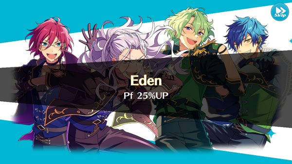 Eden Performance 25% Up