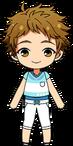 Mitsuru Tenma Late Summer chibi