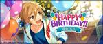 Tomoya Mashiro Birthday 2019 Twitter Banner