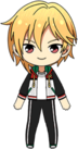 Nazuna Nito Diner Live Practice Outfit chibi