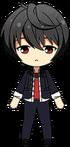 Ritsu Sakuma Delinquent Comic chibi