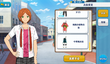Hinata Aoi Summer Uniform (Wet) Outfit