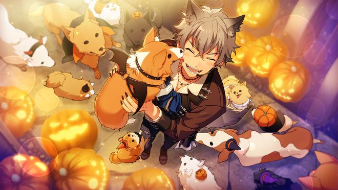 (Halloween Wolf) Koga Oogami CG2
