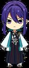 Souma Kanzaki Shinsengumi Outfit chibi