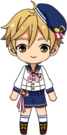 Tomoya Mashiro Marching Band chibi