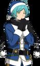 (Blue Santa) Kanata Shinkai Full Render