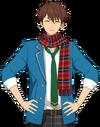 Chiaki Morisawa Winter Scarf Dialogue Render