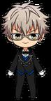 Koga Oogami Butler Uniform chibi