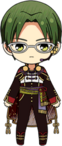 Keito Hasumi Chocolat Fes Outfit chibi