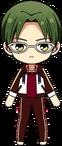 Keito Hasumi Chocolat Fes Practice Outfit chibi