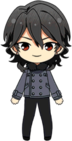 Rei Sakuma Casual (Winter) chibi