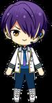 Shinobu Sengoku ES Idol Uniform chibi