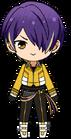 Shinobu Sengoku RYUSEITAI Uniform Chibi