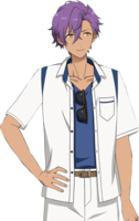 Adonis Otogari Casual Summer Dialogue Render