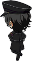 Rei Sakuma ES UNDEAD Uniform chibi back