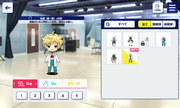 Sora Casual (Spring-Summer) with Lab Coat Chibi