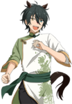 (Horse of the New Year) Mika Kagehira Full Render Bloomed