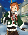 (Red-nosed Reindeer) Hinata Aoi Frameless Bloomed