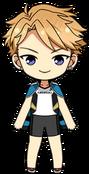 Arashi Narukami PE Uniform (Jersey) chibi