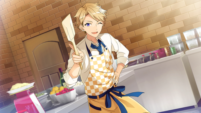 (Cooking Leader) Arashi Narukami CG