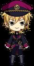 Kaoru Hakaze Easter Outfit chibi