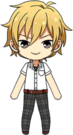 Kaoru Hakaze Summer Ponytail Uniform chibi