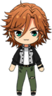 Madara Mikejima Casual (Autumn) chibi