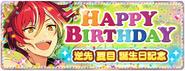 Natsume Sakasaki Birthday Banner