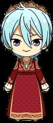 Wataru Hibiki Juliet Outfit chibi