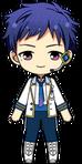 Yuzuru Fushimi ES Idol Uniform chibi