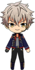 Koga Oogami 4th CD Outfit chibi