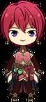 Tsukasa Suou Butterfly Outfit chibi