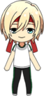Eichi Tenshouin PE Uniform (Red Team) chibi