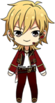Kaoru Hakaze Chocolat Fes Outfit chibi