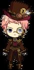 Shu Itsuki Steampunk Outfit chibi