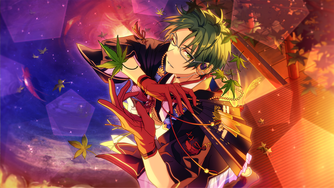 (Maple of the Full Moon Night) Keito Hasumi CG2