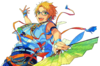 (Sunlit Sunflowers) Makoto Yuuki Full Render Bloomed