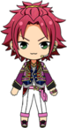 Mao Isara SS Outfit chibi